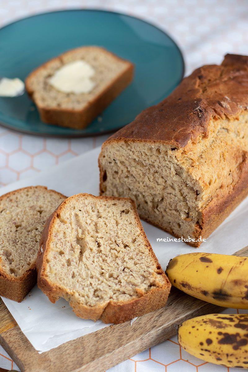 Saftiges und gesundes Bananenbrot ohne Zucker - MeineStube