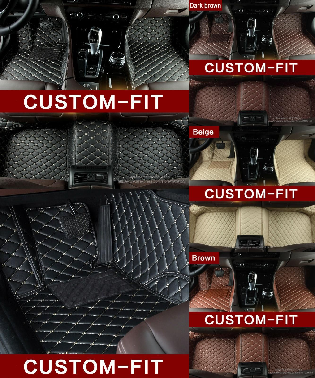 Visit To Buy Special Made Car Floor Mats For Audi A6 C5 C6 C7 A4 B6