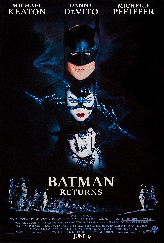 N 9  Batman Returns By Tim Burton  1992