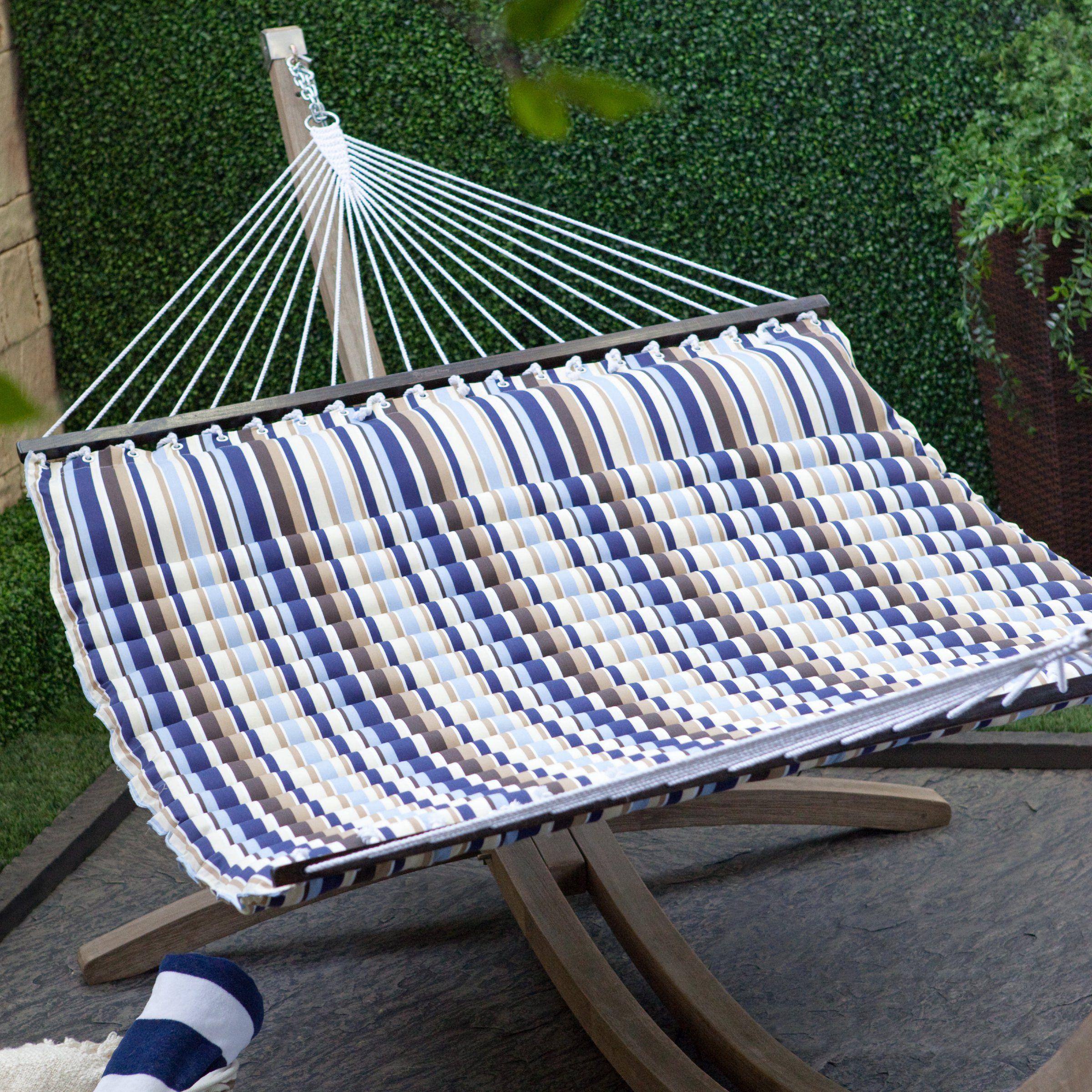 seaside pillow top hammock   hammocks at hayneedle island bay 13 ft  seaside pillow top hammock   hammocks at      rh   pinterest