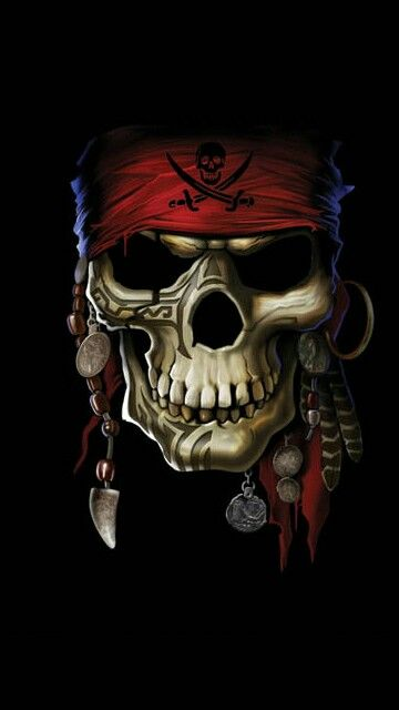 skull pirate arte pinterest tattoo sketches and mobile