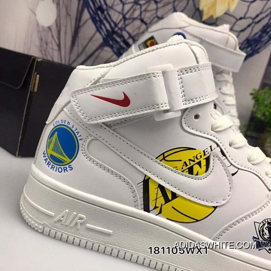 timeless design 19d9c 193ab Nike Air Force NBA The Team Collaboration Publishing Autumn Fall And Winter  High Fashion Sneakers Latest