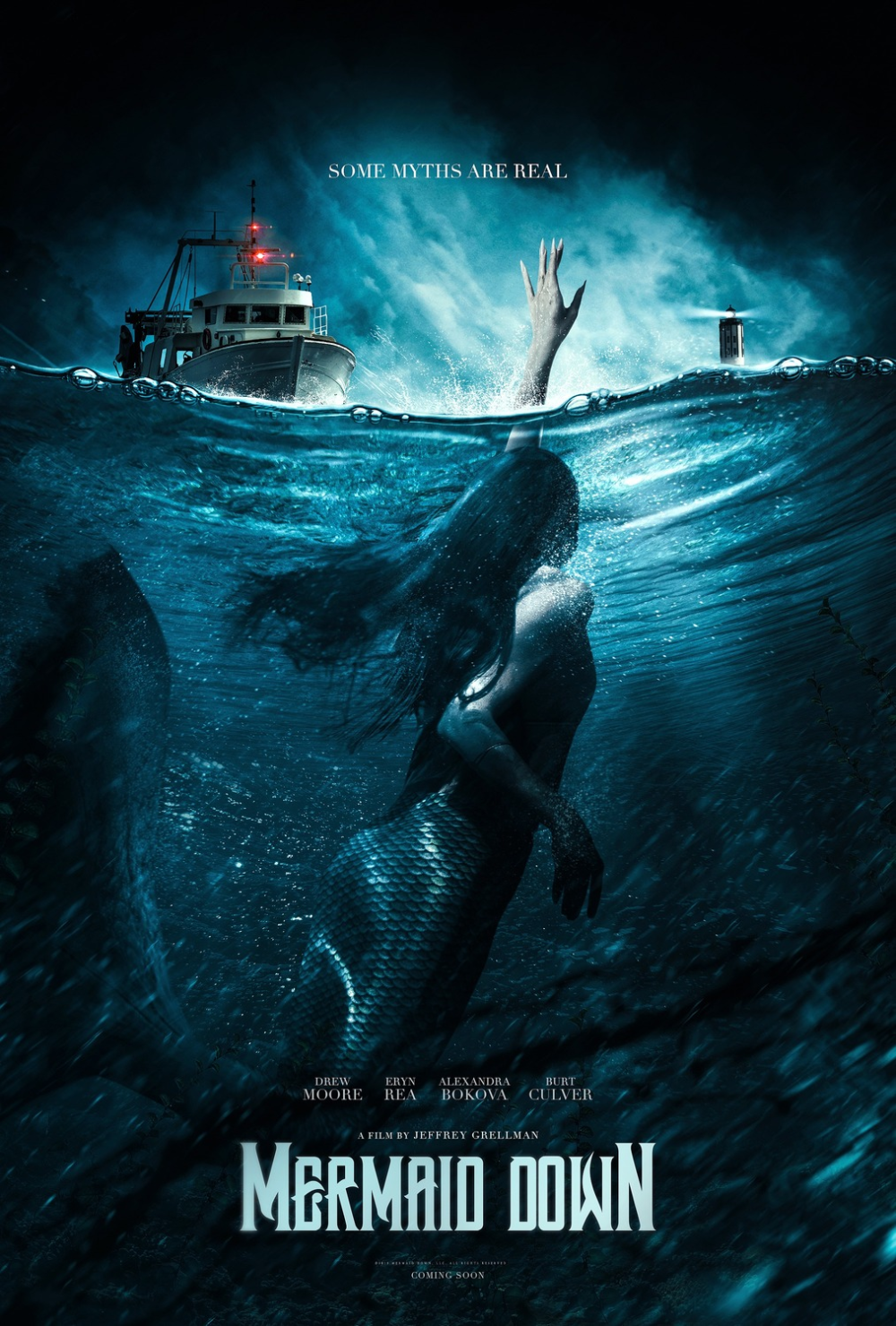 Return to the main poster page for Mermaid Down