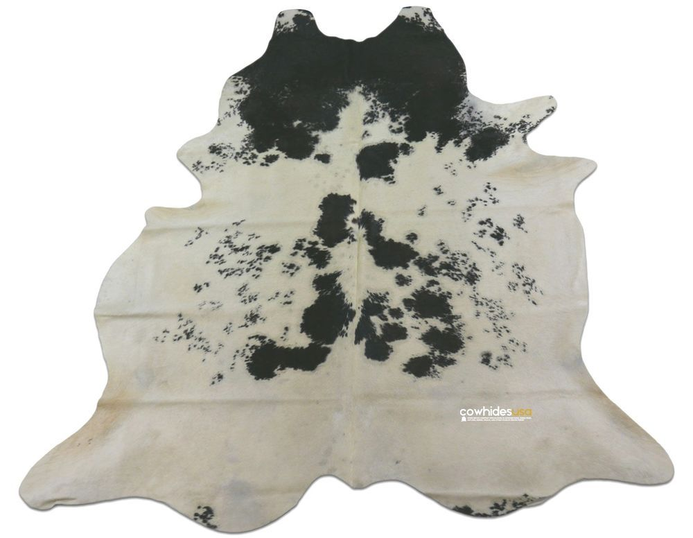 Black White Cowhide Rug Size 6 7 X 6 Ft Black And White Cow Hide Rug E 516 Cowhidesusa Contemporary