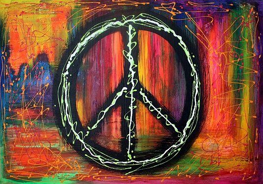 Peace Sign Art For Modern Times Chula Pinterest Modern Times