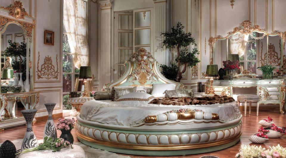 Amazing Fantasy Bedroom Round Beds Italian Bedroom Italian Bed