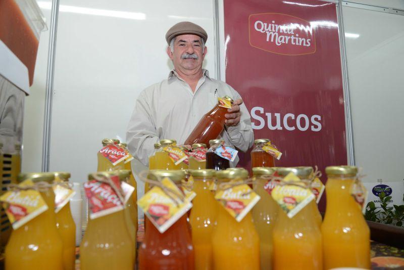 Sucos naturais de frutas nativas na 22ª Fenadoce