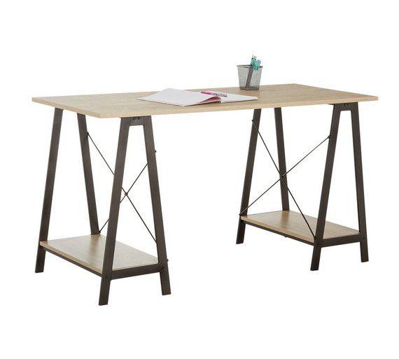 Buy Argos Home Trestle Table Office Desk