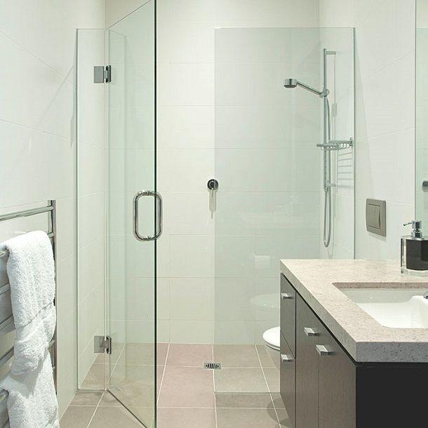 Practical Shower Glass Door bathrooms Pinterest Glass doors