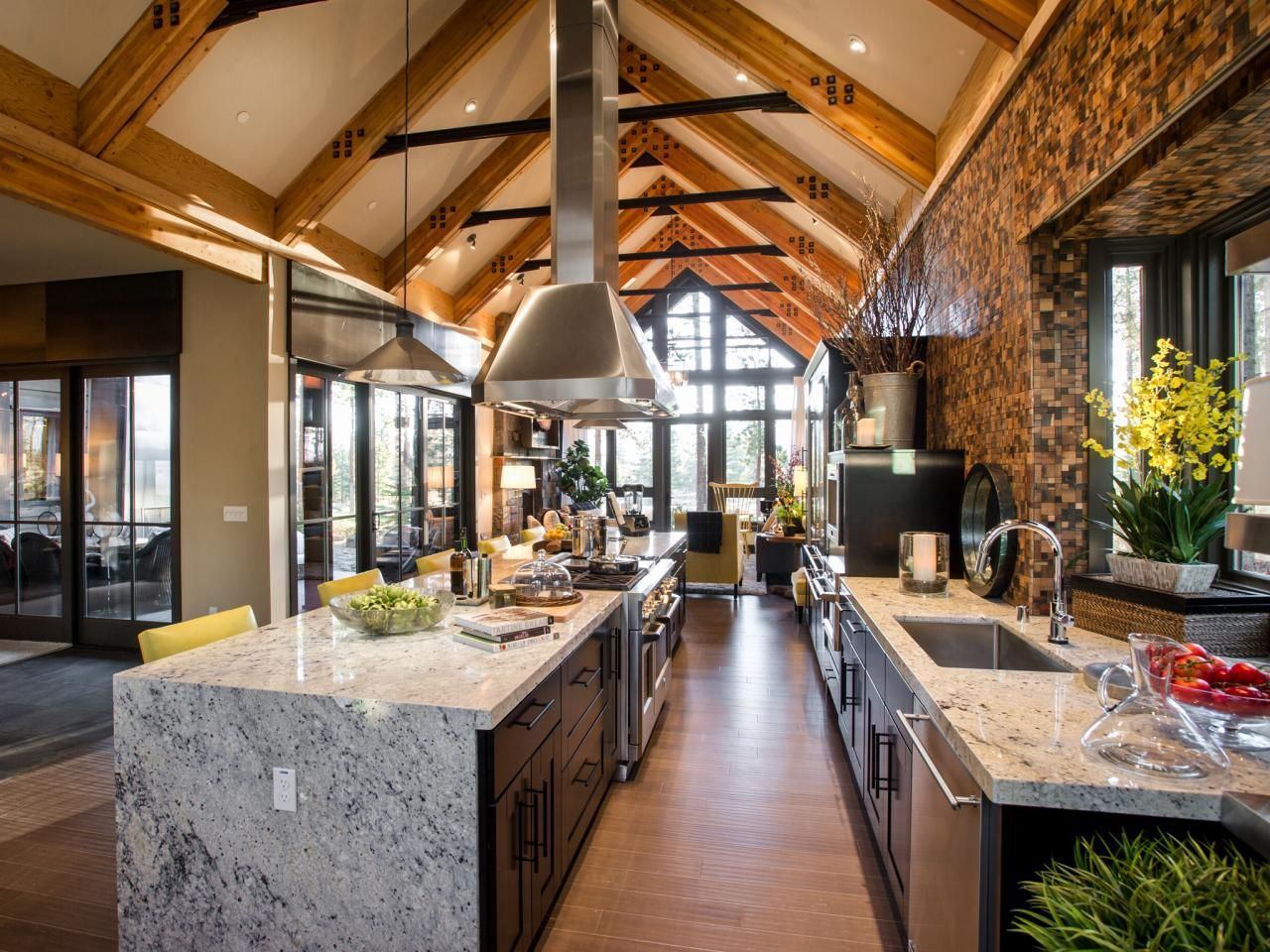 This kitchen of the hgtv dream home is the heart of the first