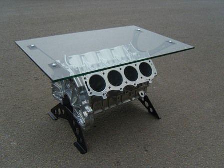 The ultimate guys table. Engine BlockBlock ... - This Is A 350 Engine Block Table That I Have Built Engine Block