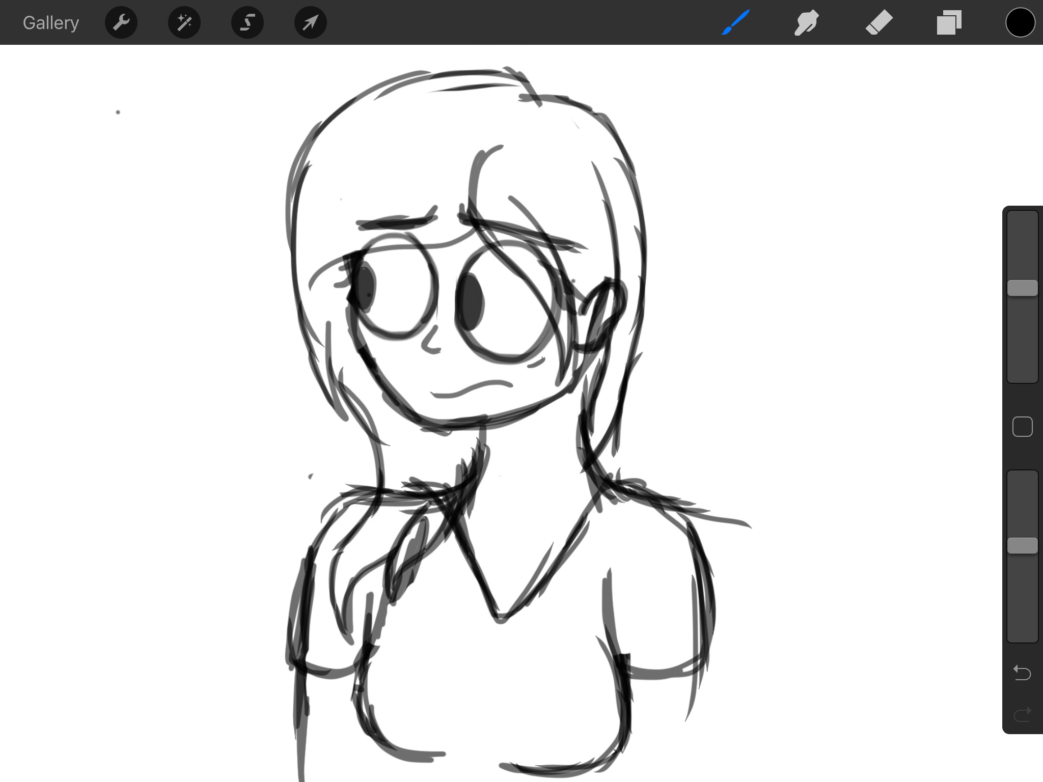 Sorry this isn't ponies but I'm developing a style for an animation, tbh this is the style I've always wanted. What do y'all think so far???