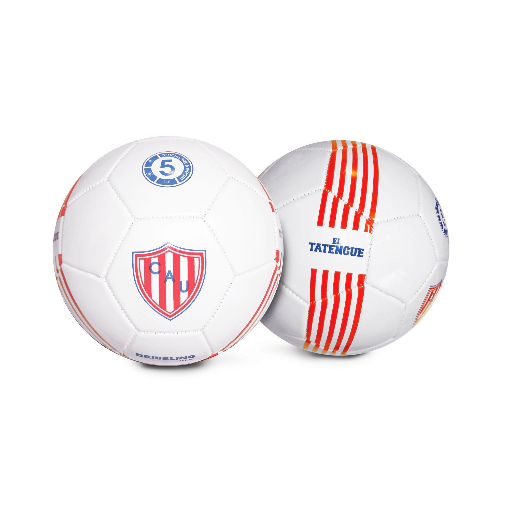 #Pelota de #futbol #Dribbling Libertadores #UnionDeSantaFe #ElTatengue  PVC. Cosida a máquina. 32 paneles. Entretenimiento. #SoccerBall #Soccer #Ball #Deporte #Sport
