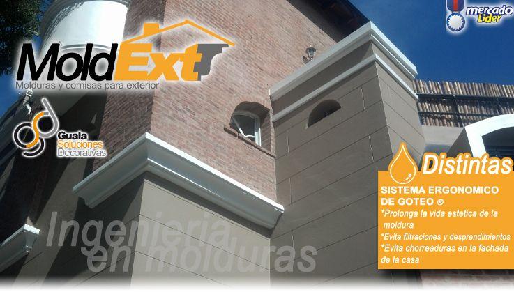 Molduras para exterior ma85 antepecho fachadas for Casa de muebles capital federal