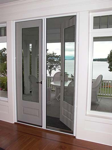 Double French Screen Doors Kinds Of French Door Screen