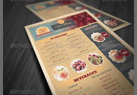Food-Menu-Template Graphic Design Pinterest Menu templates - free food menu template