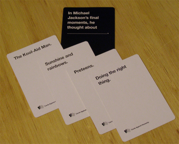 cards against humanity examples - Google Search | Gifts | Pinterest