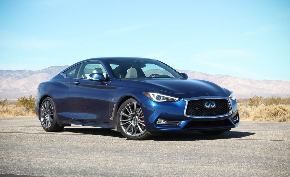 2019 Infiniti Q60 Red Sport 400 Review, Pricing, and Specs