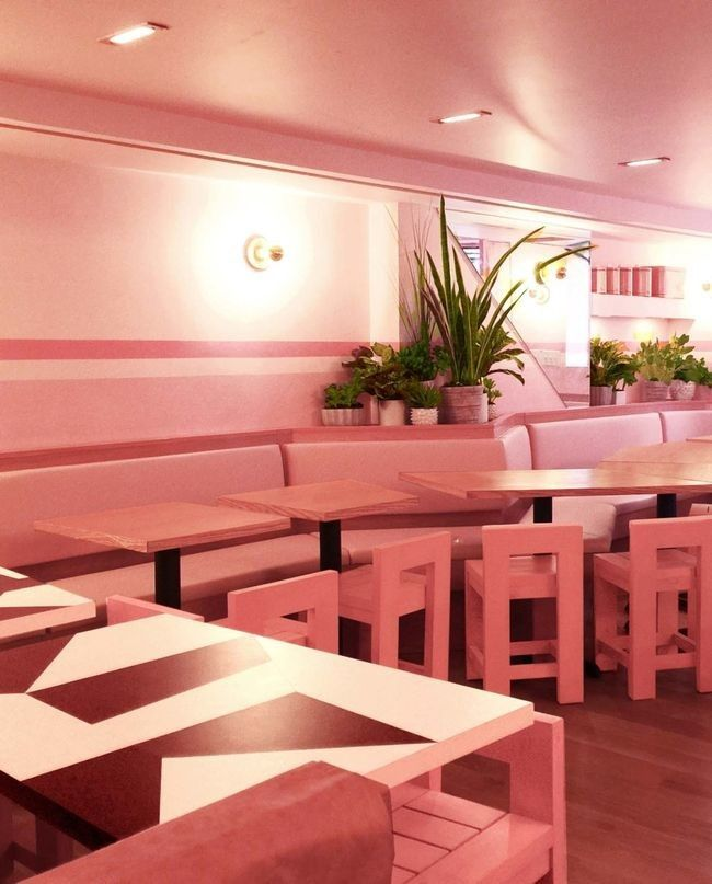 Look inside an entirely pink restaurant in New York City — Vogue ...