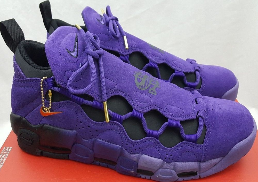 5301a119e Nike Air More Money QS PRPL AQ2177-500 Court Purple Size 10.5 #Nike  #BasketballShoes