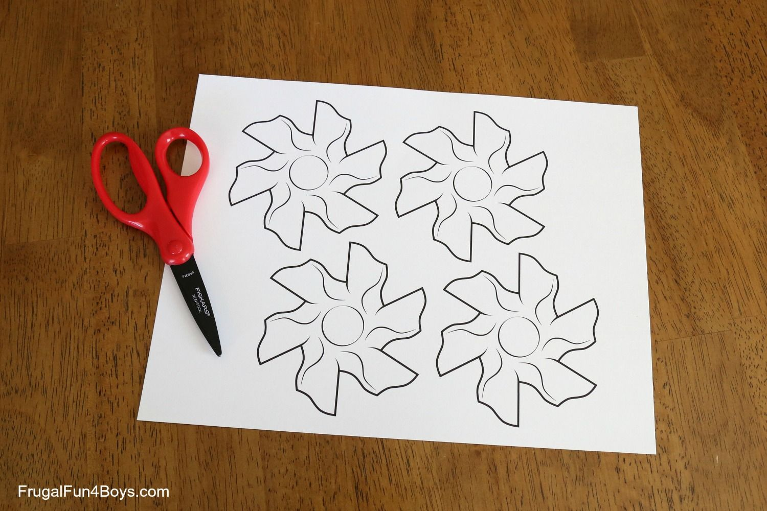 Flower Tessellation Activity For Kids With A Printable