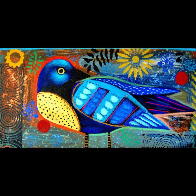 """Terrell Powell, """"Blue Bird"""""""