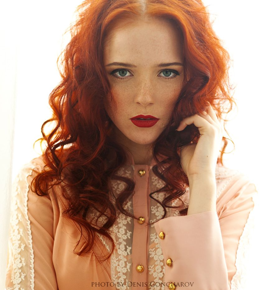 Red by denisgoncharov reds pinterest redheads red hair and
