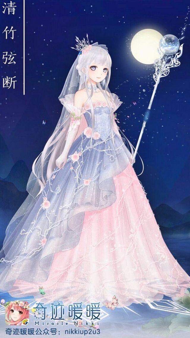 Anime Queen Of Light Realeza em forma de an...