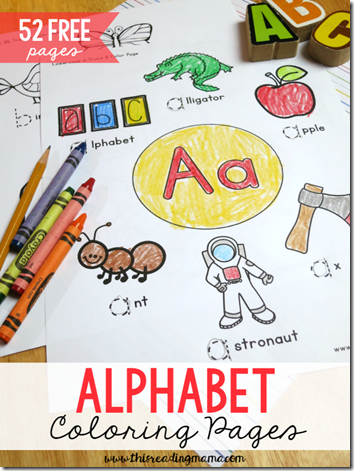 52 Free Alphabet Coloring Pages Alphabet Coloring Pages Alphabet Activities Alphabet Preschool