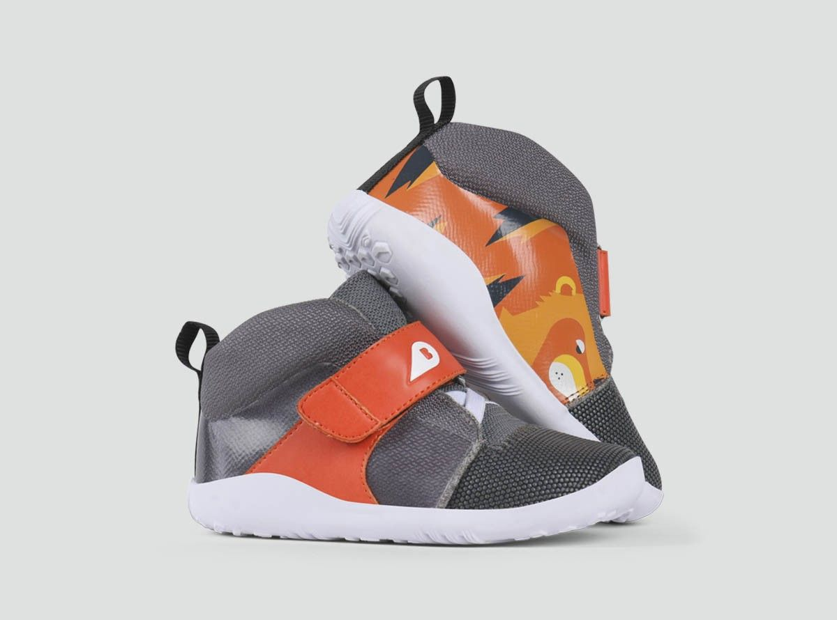 Plus En 26 Blaze Hi Tiger Flame Chaussures De Sport Bobux Leather Baby Shoes Toddler Shoes Sneakers With Wheels