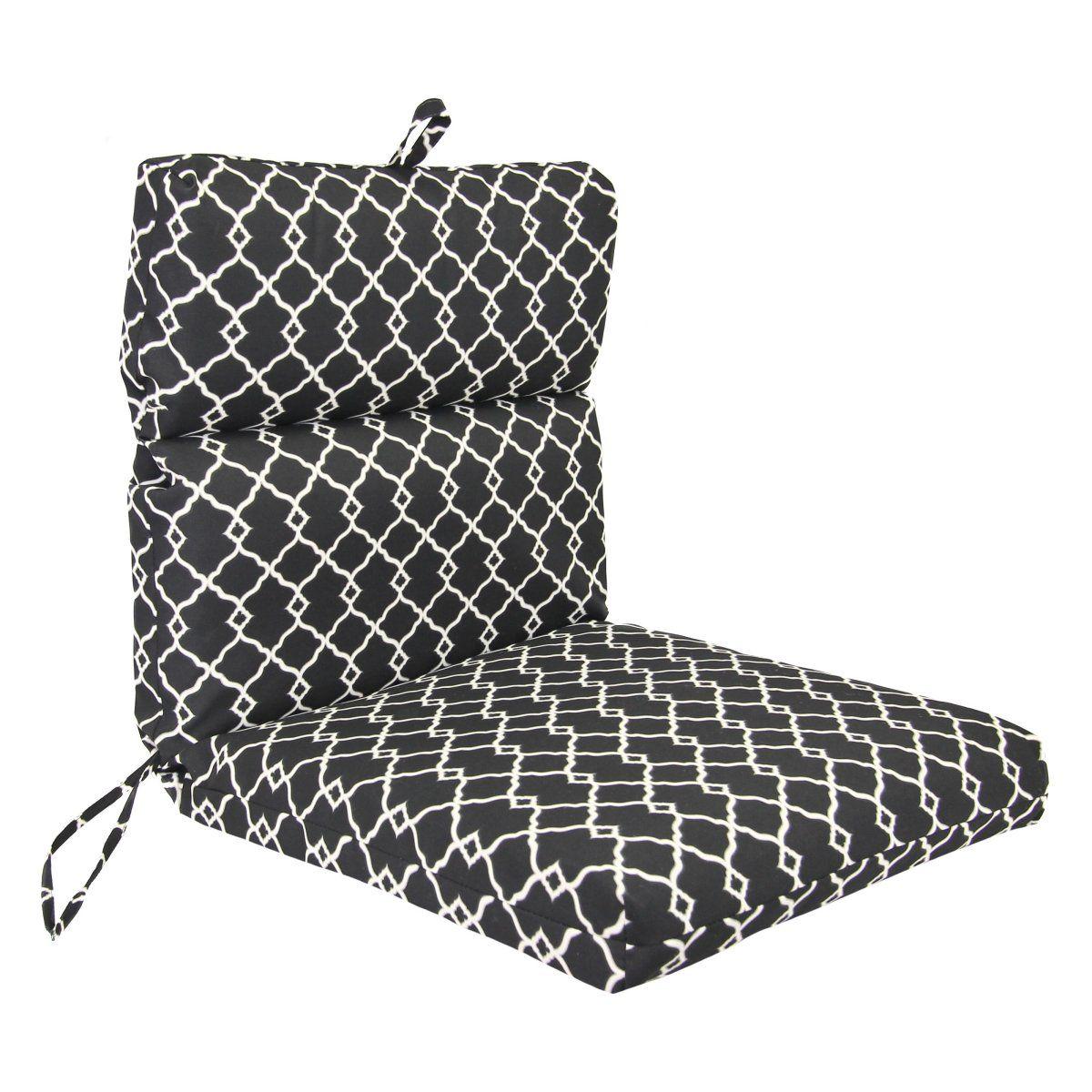 Jordan Manufacturing 22 X 44 Chair Cushion Outdoor Cushions At
