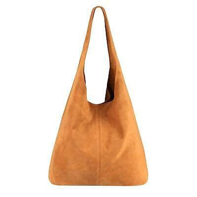 Photo of ITAL LADIES LEATHER BAG Shoulder Bag Tote Suede Tote Handbag …