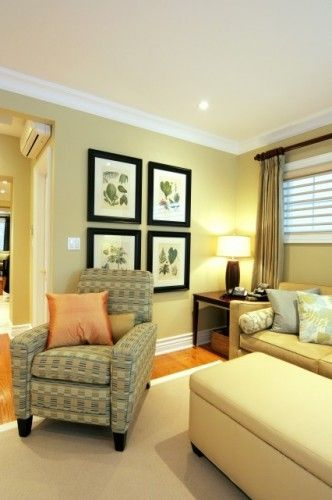 Cypress Grove 388 by Benjamin Moore, or Ancestral Gold 6407 by ...