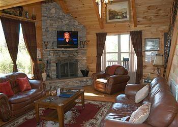 Blue Ridge Cabin Rentals Panoramic View Helen GA$155 2 bedroom