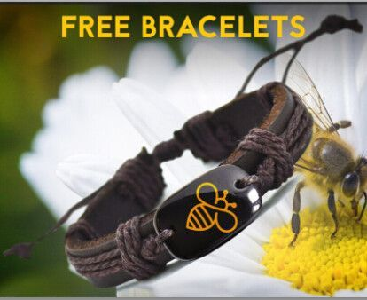 New Arrival Bee Leather Bracelet