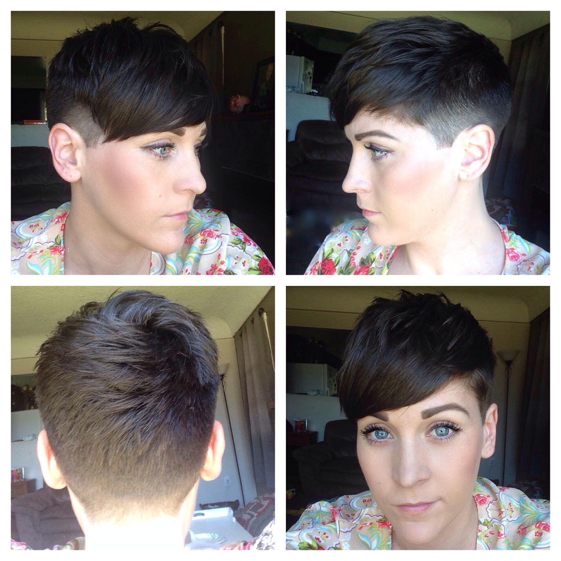 Womens Short Hair, Undercut, Clipper Cut, Fade, Fashion