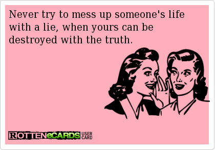 Hey Narcissist! You're digging yourself a huge hole    can't wait