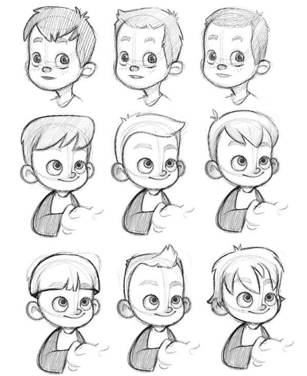 Mod les de cheveux coloriage pinterest dessin cheveux dessin et dessin - Modele dessin personnage ...