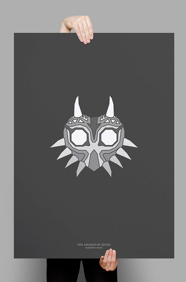 "Conjunto de posters de la saga ""The Lengend Of Zelda"""