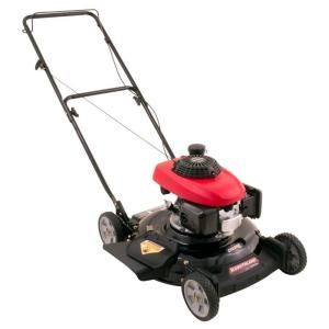 Southland 21 in. 160 cc Honda Engine Gas 2-in-1 Walk-Behind Push Mower-SM2119 at The Home Depot