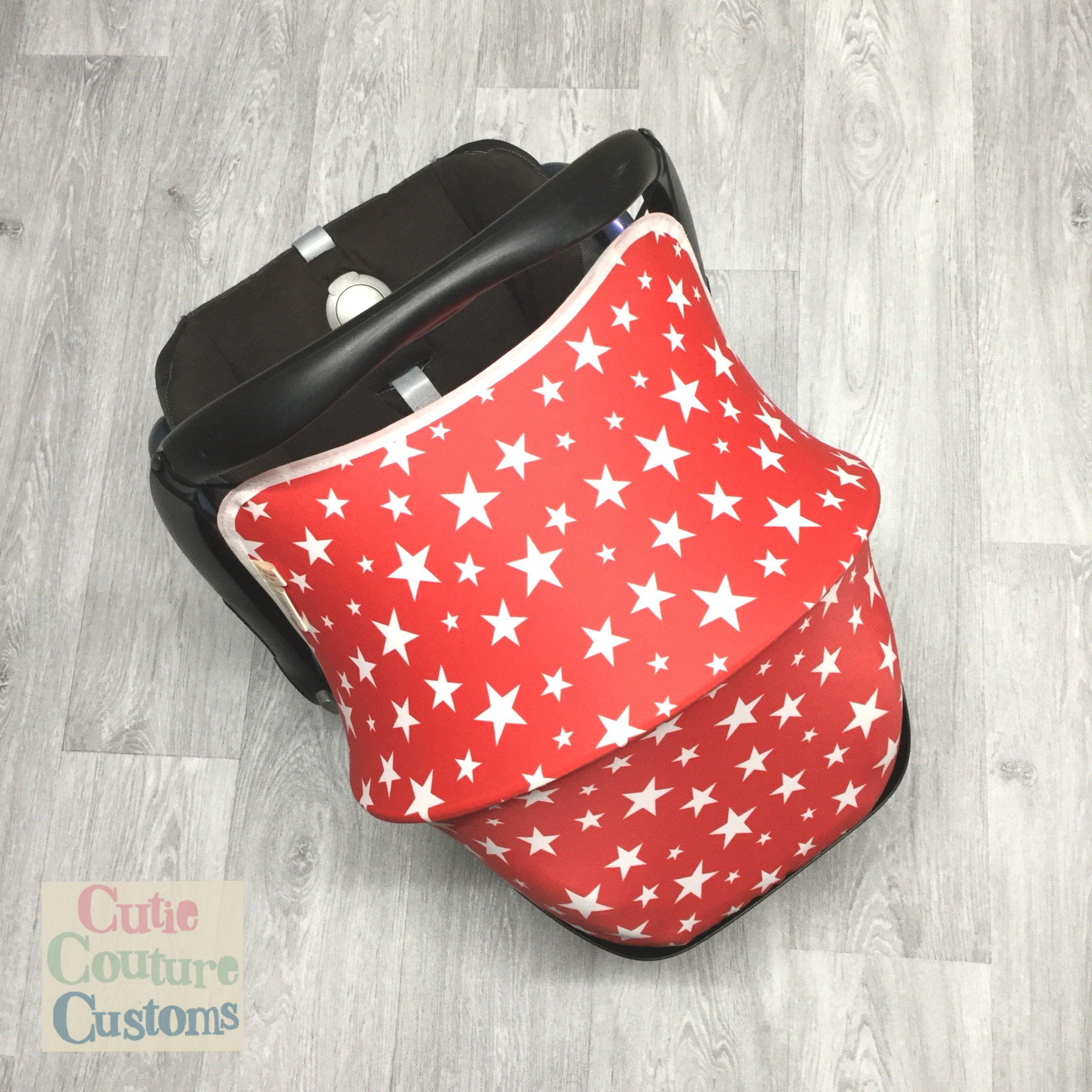 Stars Car Seat Hood Maxi Cosi Carseat Cover Canopy Baby Sunshade Cabriofix New Girl Boy Sun Capsule