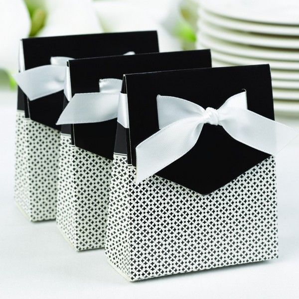 Black Wedding Favor Bo Perfect