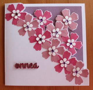 Fiskars In Bloom Squeeze is used to make this card.