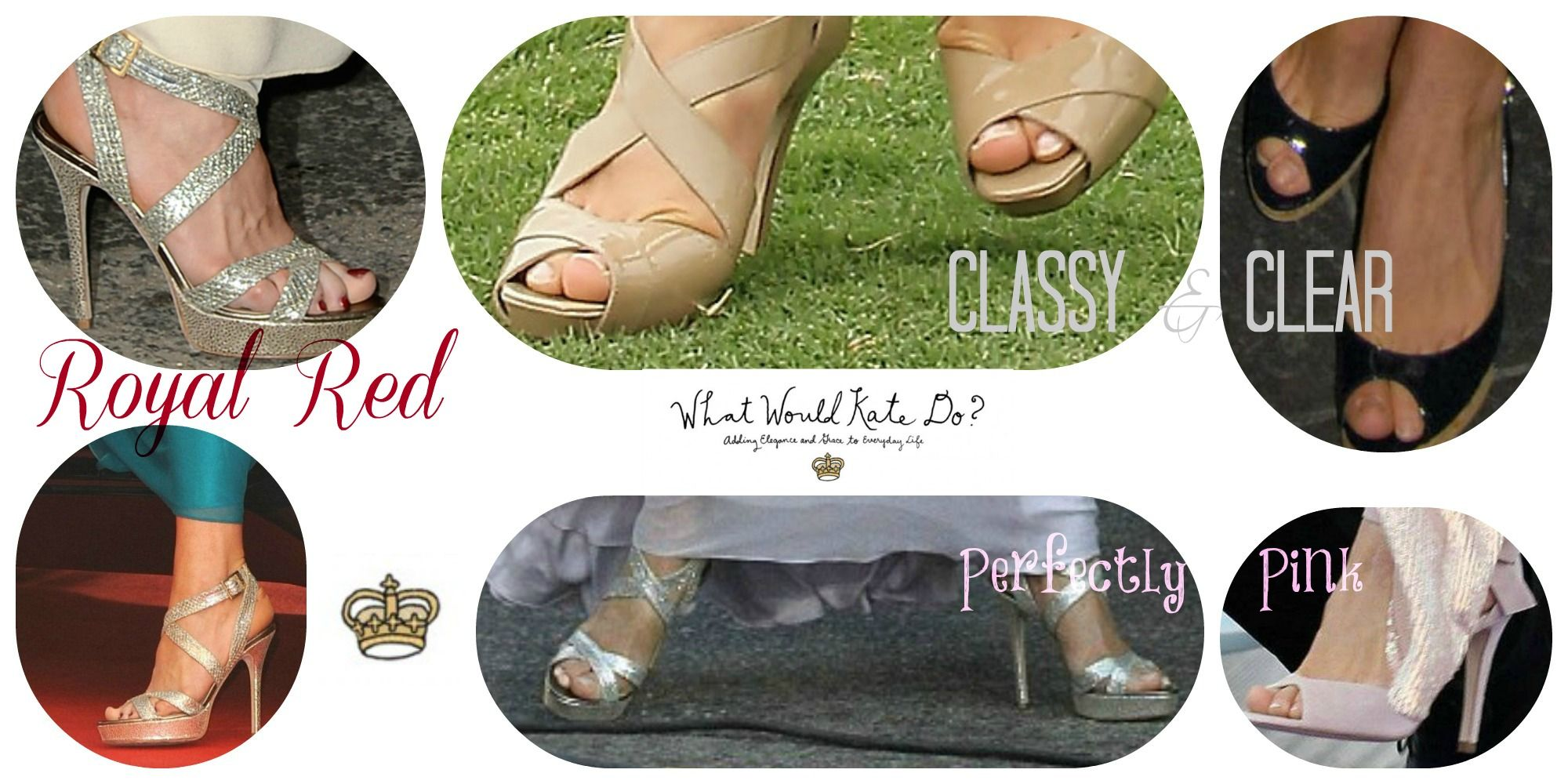 Princess Pedicure - Kate Middleton Inspired Nail Polish | Pinterest ...