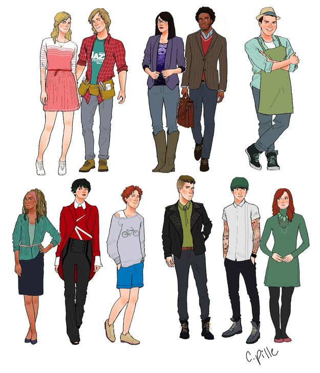 Anime Characters Grown Up : Hey arnold cartoon characters drawn as adults