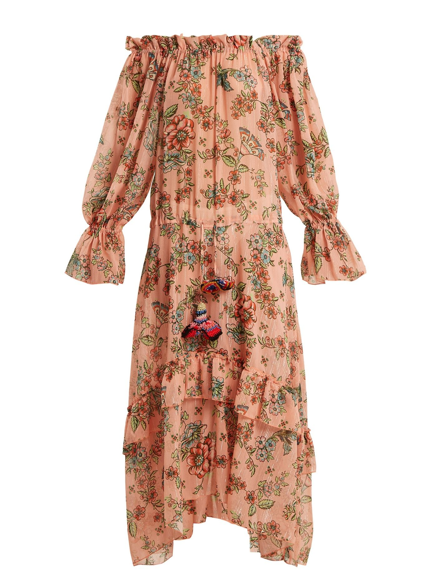 Clearance Pay With Paypal Sofia off-the-shoulder floral-print dress Anjuna Cheap Prices Authentic Pre Order Cheap Price Outlet Footlocker Pictures Yq3OUxb