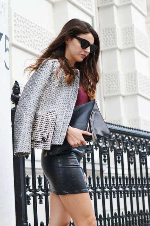 Tweed Jacket Silver