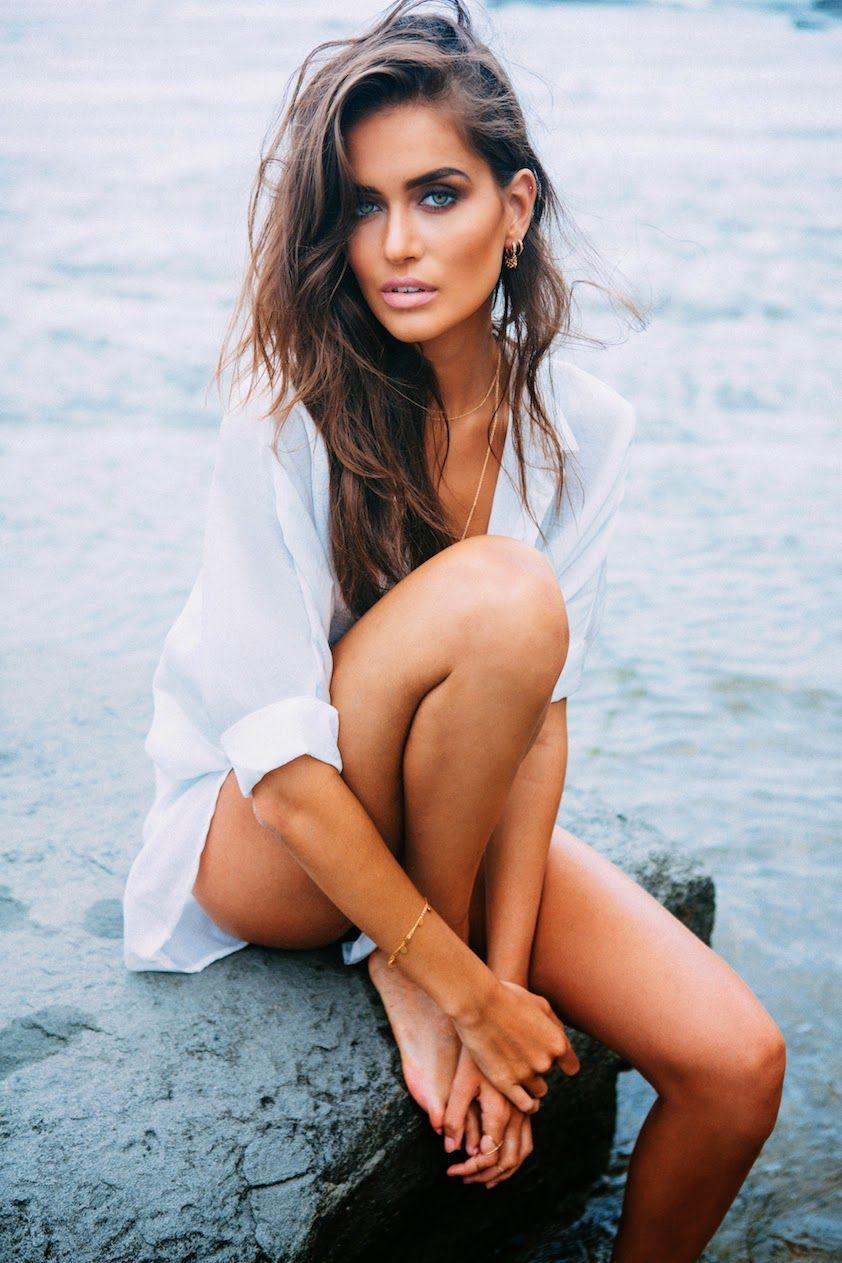 Australian sexy woman beach 10