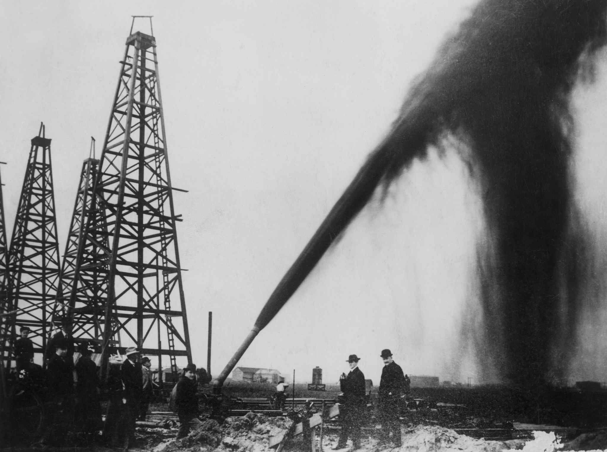 """The early 1900s were nicknamed the """"Gusher Age"""" in Texas"""