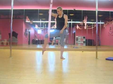 aerial yoga leg stretch series  yoga leg stretches